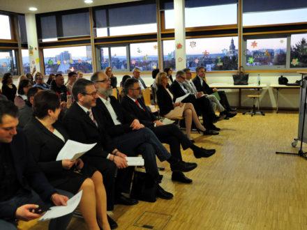 Feierlichkeiten zum einjährigen Jubiläum der Talent Company an der Bachschule Offenbach