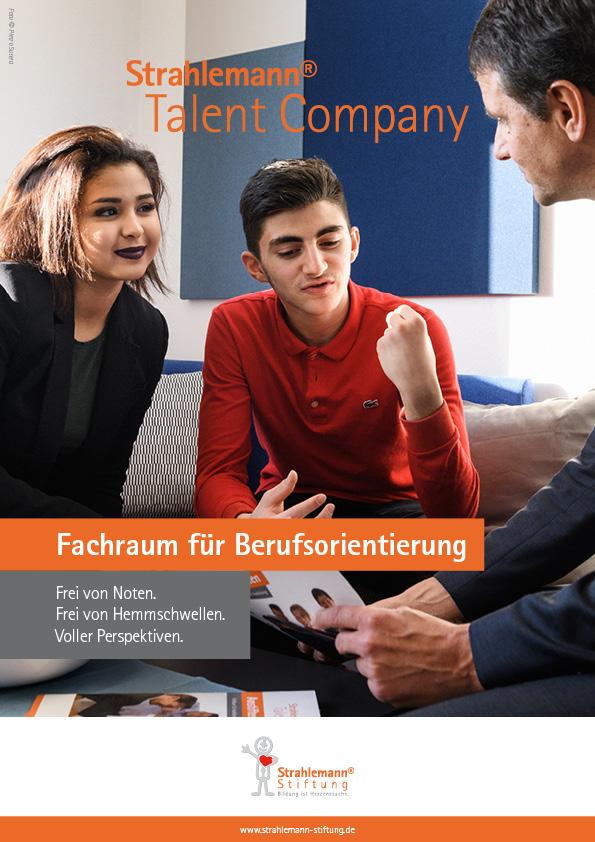 Broschüre: Talent Company
