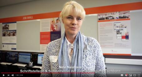 Video: Eröffnung der Talent Company in Eschborn – mit Nele Neuhaus