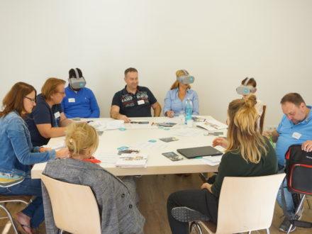 """Talent Company im Dialog"" 2019 Workshop Virtual Reality Ausbildungsberufe"