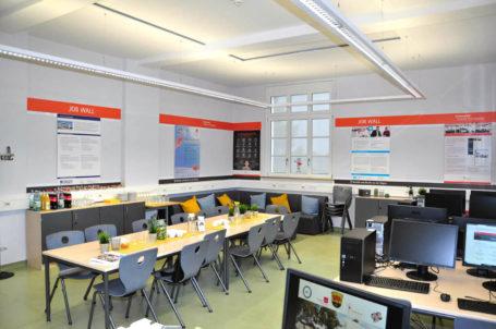Fachraum für Berufsorientierung an der Gutenbergschule Darmstadt-Eberstadt