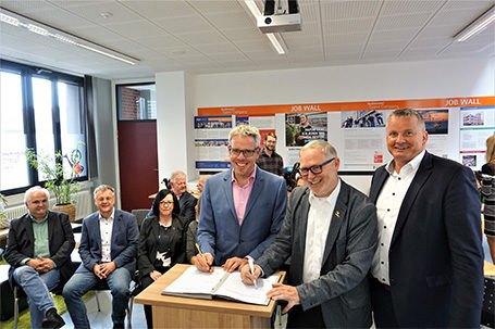 5 Strahlemann Talent Companies in 5 Jahren – Kooperationsvereinbarung mit dem Kreis Bergstraße unterzeichnet