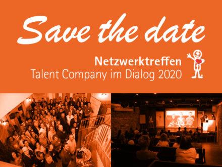 """Netzwerktreffen """"Talent Company im Dialog 2020"""""""