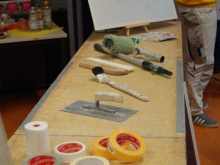 Einblicke in den Malerberuf- Impressionen des Brillux Workshop