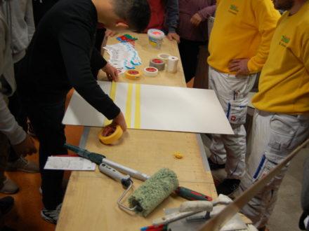 Einblicke in den Malerberuf- Brillux Workshop