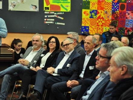 Impressionen der Eröffnung der Talent Company an der MPS Gadernheim