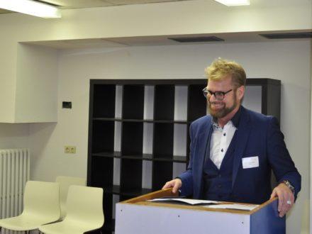 Impressionen der Eröffnung der 40. Talent Company in Berlin