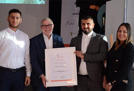 Unsere neuen Stifter 2019: Franz-Josef Fischer und Mitarbeiter von Fair-Treat Personal