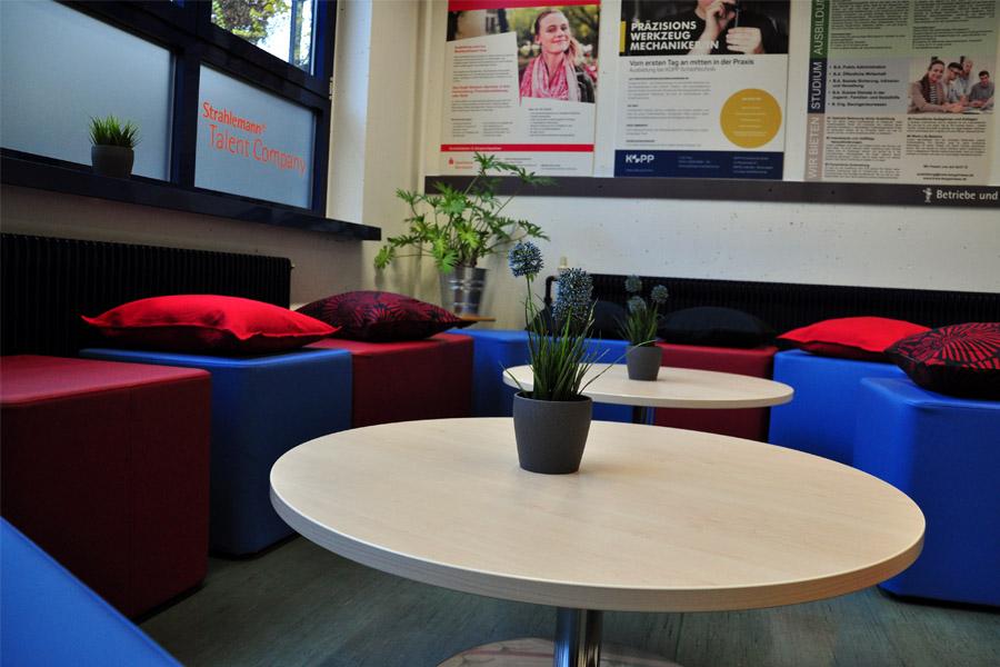 Räumlichkeiten der Talent Company an der Mittelpunktschule Gadernheim