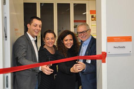 Talent Company an der Ferdinand-Porsche-Schule in Weissach eröffnet