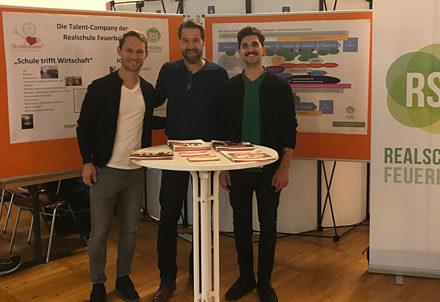 Strahlemann bei der Ausbildungsmesse in Stuttgart