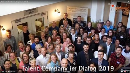 "Video: Netzwerktreffen ""Talent Company im Dialog"" 2019"