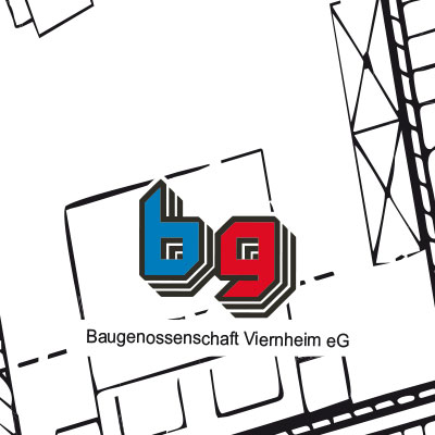 Baugenossenschaft Viernheim eG - Logo