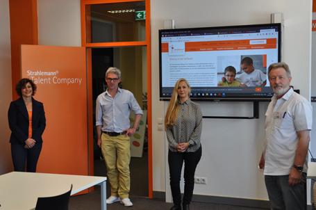 Talent Company an der Siebenpfeiffer-Realschule plus und FOS Haßloch im kleinen Rahmen eröffnet