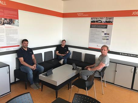 Öffnung der 42. Talent Company an der Friedrich-Dessauer-Schule in Limburg