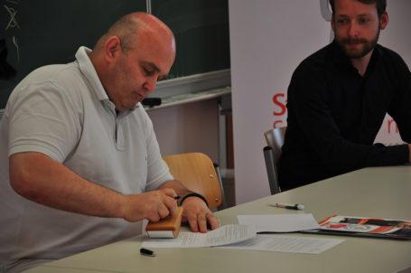 Unterzeichnung der Kooperationsvereinbarung für die Talent Company Homburg