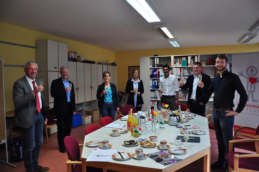 Unterzeichnung der Kooperationsvereinbarung TC Lahnstein