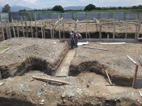Baustelle - Hier entsteht die Schule der Hoffnung
