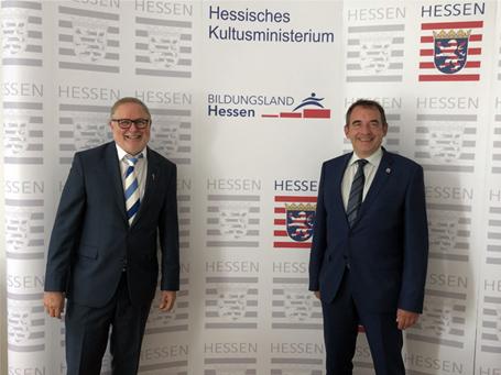 Zu Besuch im Hessischen Kultusministerium