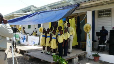 Einweihungsfeier der Schule der Hoffnung in Haiti