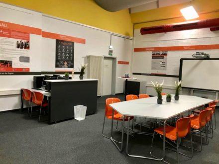 Einrichtung der Talent Company an der OSW in Kassel