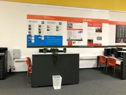 Arbeitsplätze der Talent Company an der OSW in Kassel