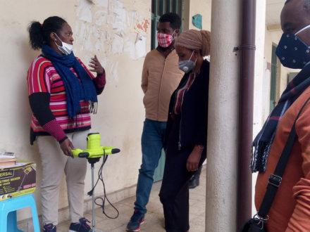 Ausbildung in Herstellen von Flüssigseife - Unterstützung in Äthiopien