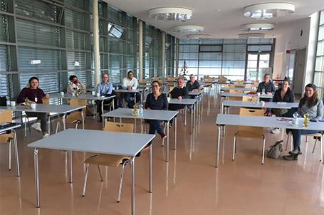 """""""Runder Tisch"""" mit regionalen Ausbildungsbetrieben für die Talent Company in Wald-Michelbach"""