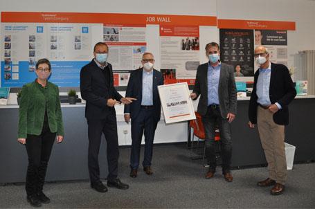 Kleine Eröffnung der Talent Company an der Offenen Schule Waldau in Kassel –