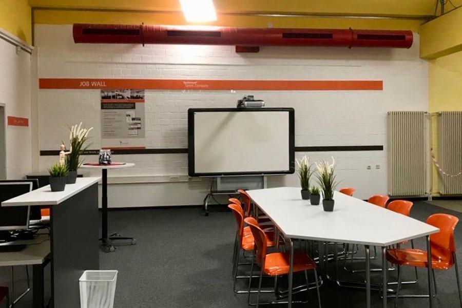 Einrichtung der Talent Company an der Offenen Schule Waldau in Kassel