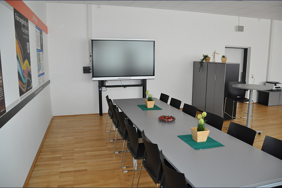Workshopbereich der Talent Company im BBZ Homburg
