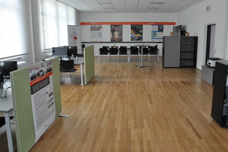 Einrichtung der Talent Company im BBZ Homburg