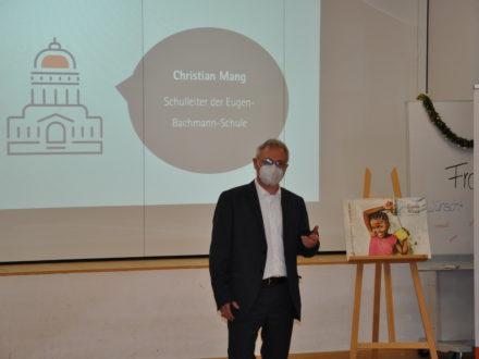 Eröffnung der Talent Company - Ansprache Schulleiter Christian Mang