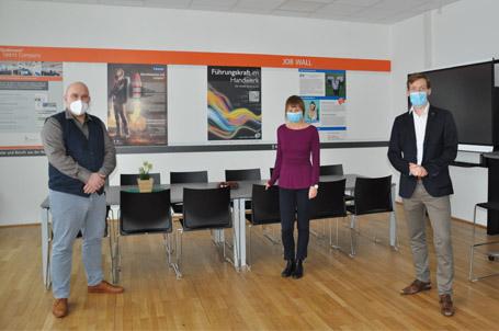 DieTalent Company an der Paul-Weber-Schule in Homburg ist eingeweiht