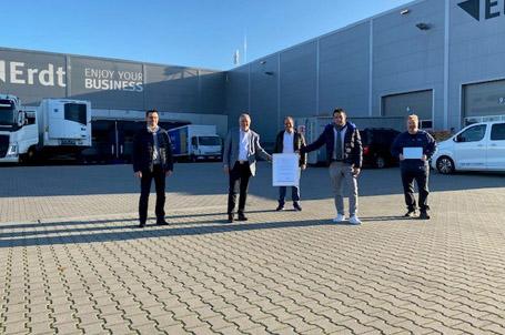 Neuer Stifter – herzlich willkommen Produkt Service Erdt GmbH!