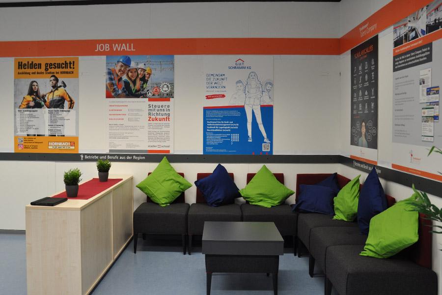 Lounge-Ecke der Talent Company