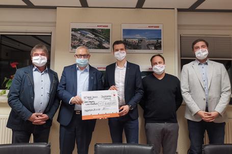 Unterstützung für die Talent Company in Wald-Michelbach – Spende der AHT Menzel Services GmbH