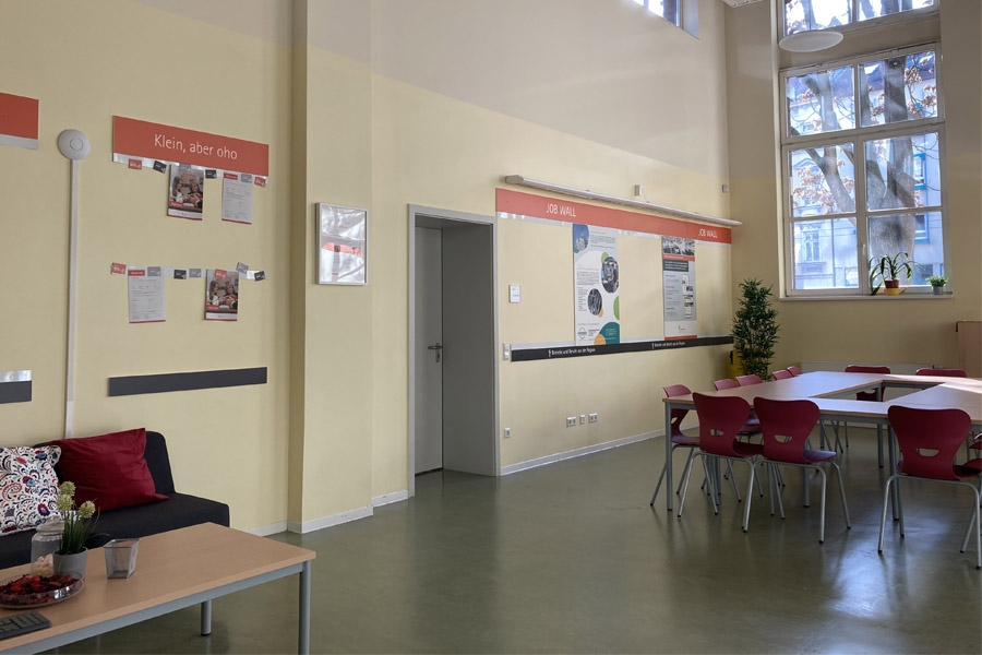 Job Wall der Talent Company in Leipzig
