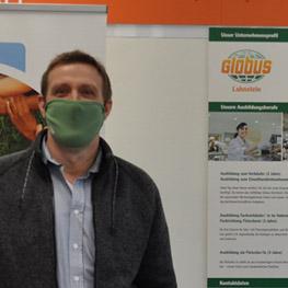 Peter Hamm, Globus-Botschafter -  Assistentin der Geschäftsleitung (Globus-Markt Lahnstein) und Globus-Botschafterin