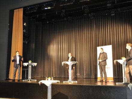 Unterzeichnung der Kooperationsvereinbarung für die Talent Company in Rodgau
