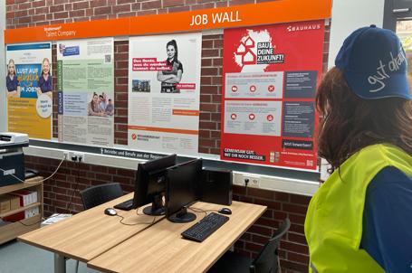 Zwei neue Job Wall Partner für die Talent Company an der Martin-Buber-Schule Heppenheim