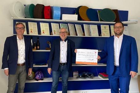 Den Nachwuchs von morgen fördern – JÖST abrasives GmbH spendet 20.000 Euro für die Talent Company Wald-Michelbach