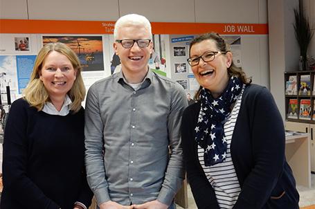 Interview mit den Talent Company Koordinatoren der IGMH Mannheim Frau Fey und Herr Krieger