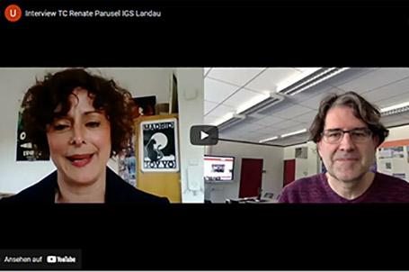 Strahlemann-Stiftung im Interview mit der IGS Lanau