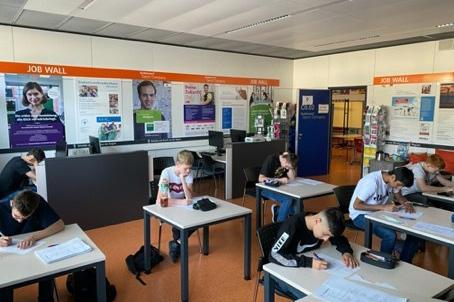 IGMH-Schüler:innen testen neues Berufsorientierungsmodul