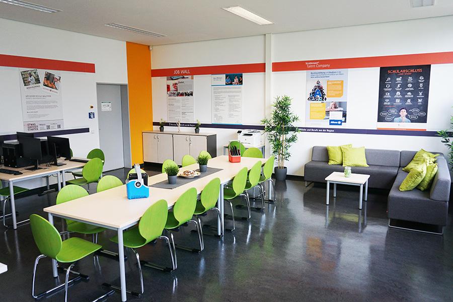 Einrichtung der Talent Company in Rodgau