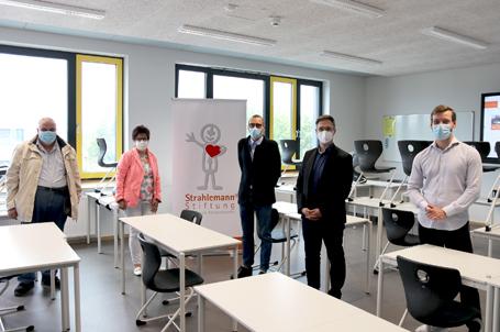 Eine Strahlemann® Talent Company entsteht an der Sophie-Opel Schule in Rüsselsheim