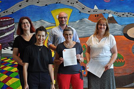 Kooperationsvereinbarung für die Strahlemann® Talent Company an der Stadtschule Schwarzenberg unterzeichnet