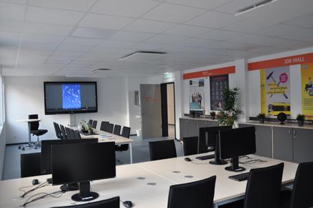Eröffnung der Talent Company in der Gesamtschule Essen Nord 2